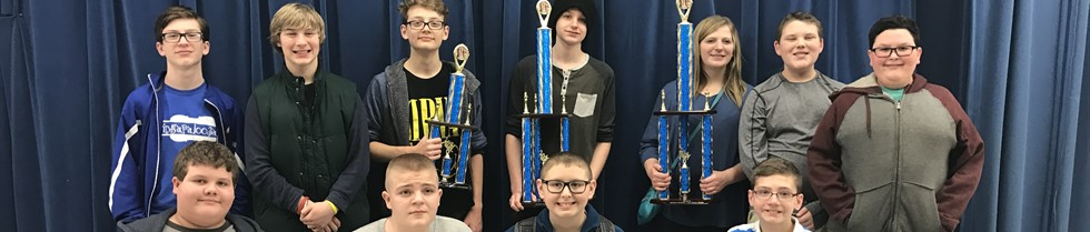 McNabb Chess Team finished first in the Quad D Regional Tournament.
