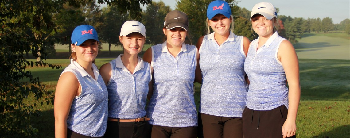 MCHS Girls' Golf Region Runner-Up