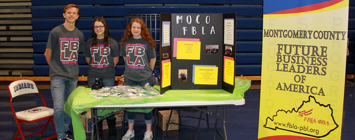 FBLA at 4th and 5th Career Fair