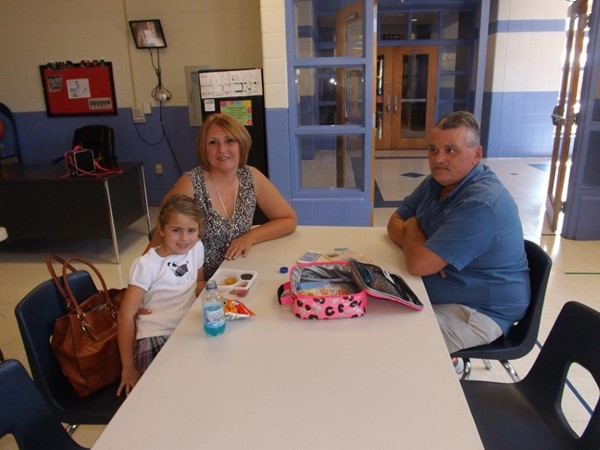 Kindergarten with Grandparents and Family Friends