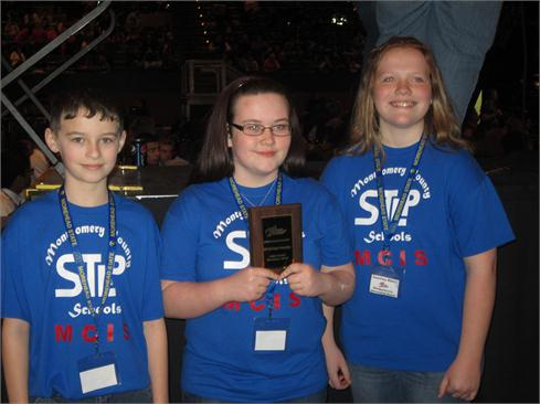 Becca Swartz, Dawson Jones, & Courtney Elliott won 1st in KSU GIS Maps