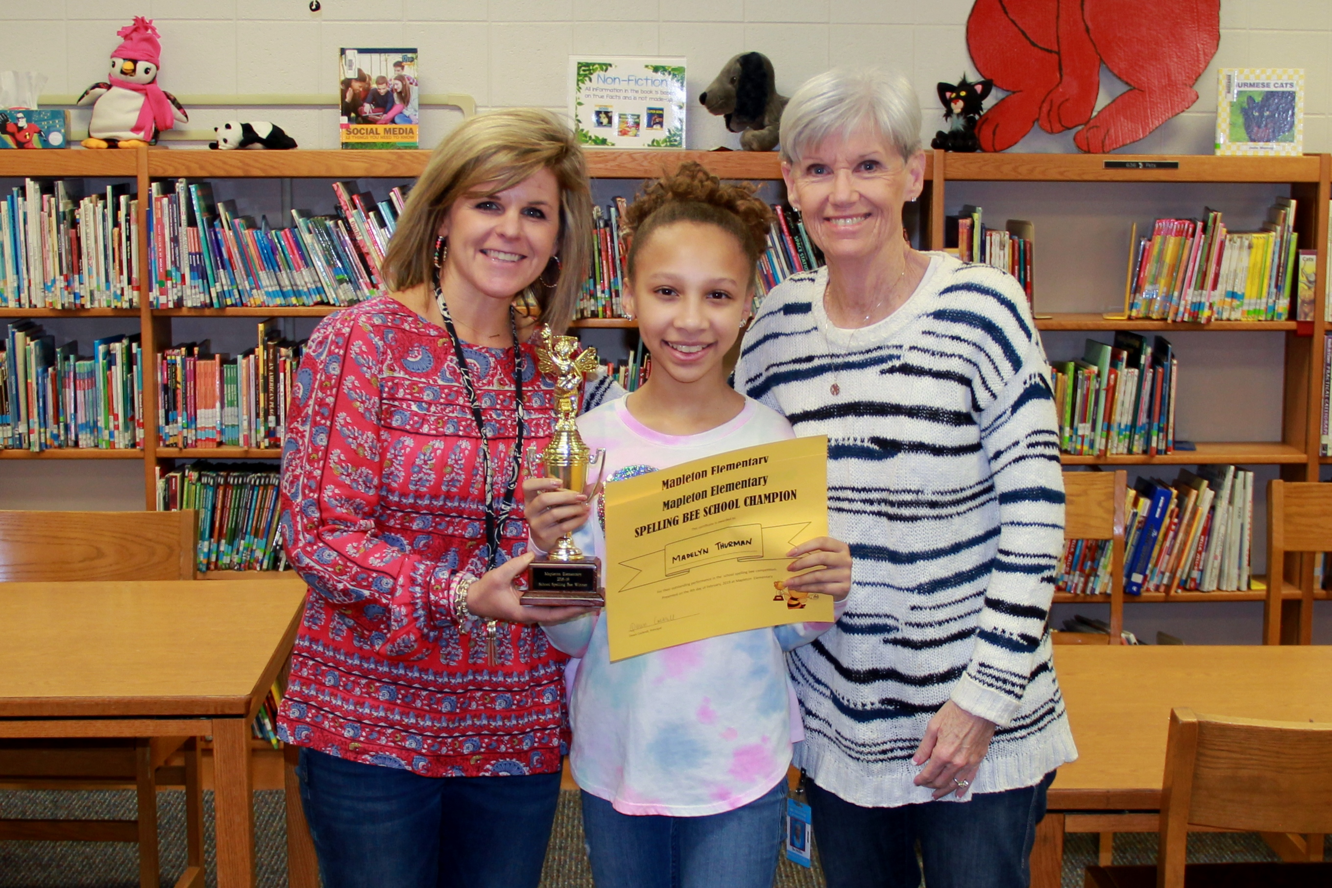Mrs. Gross, Madelyn Thurman & Ms. Miller
