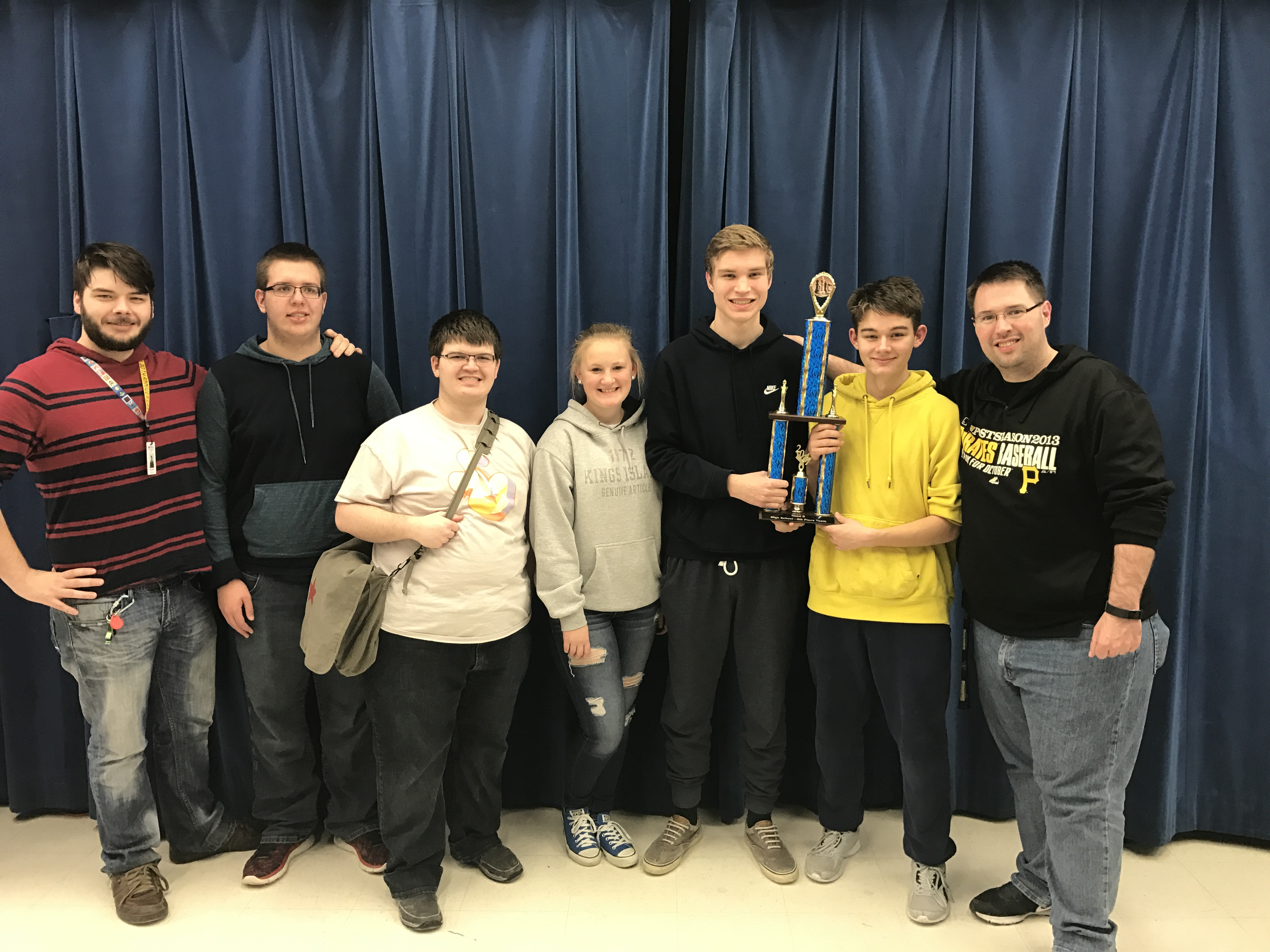 MCHS Chess Team finished 4th in Quad D Regional.