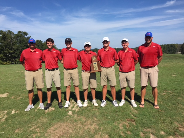 MCHS Boys' Golf Team Region 12 Champs