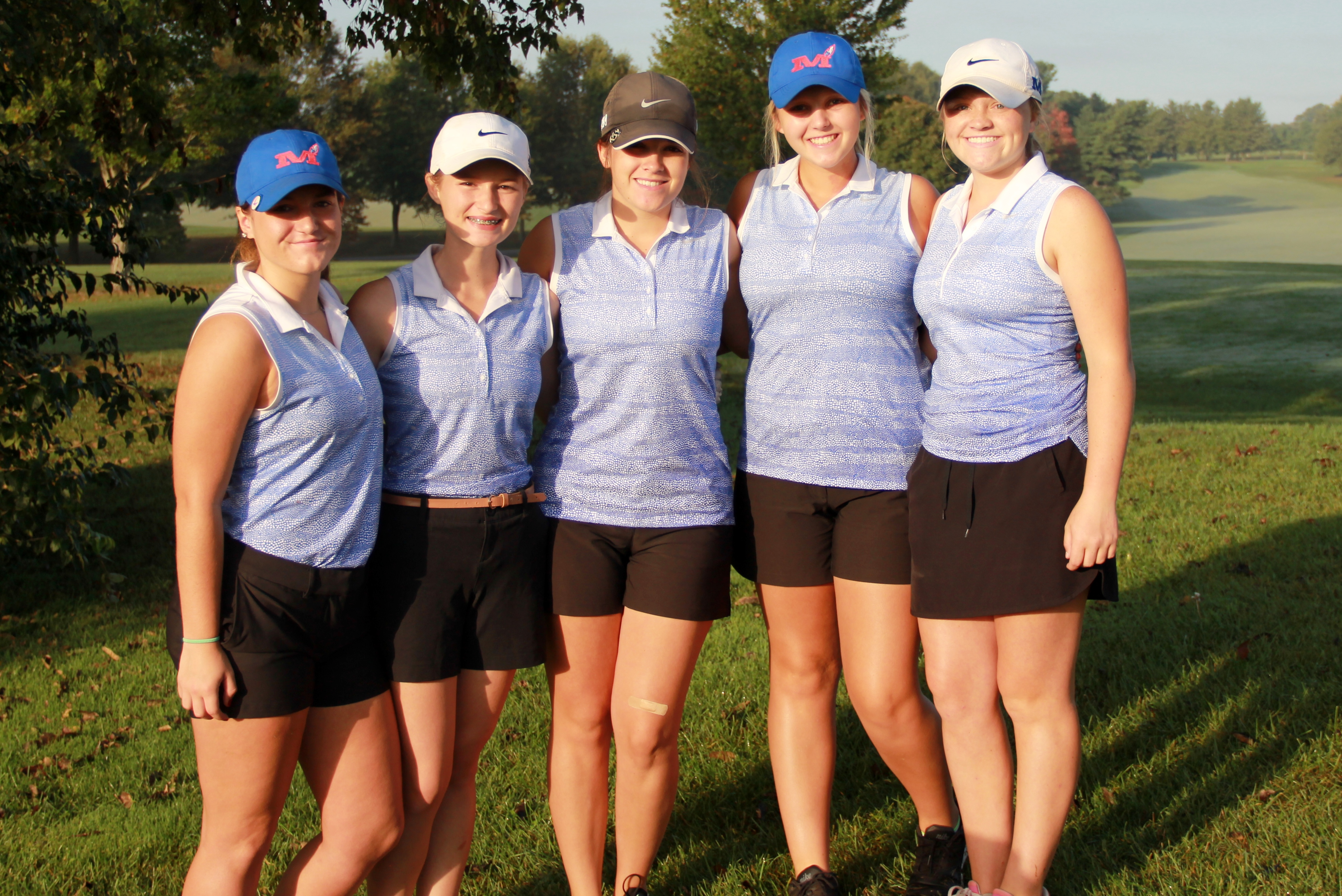 MCHS Girls' Golf Team Region Runners Up