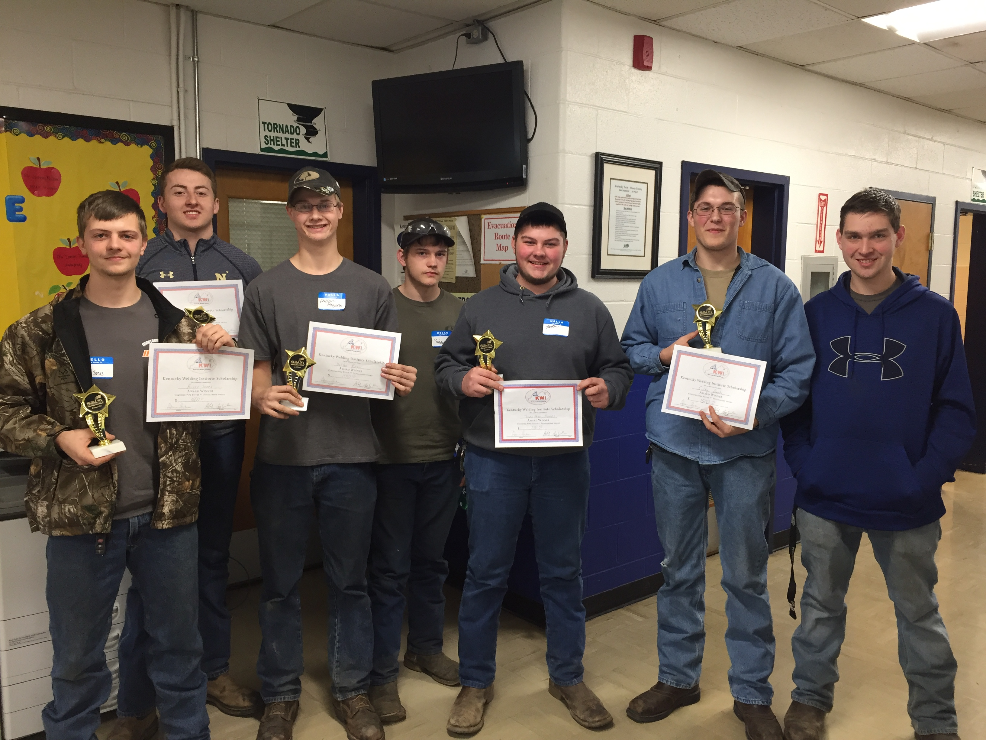 Montgomery County ATC students competed in the Skills USA Competition.